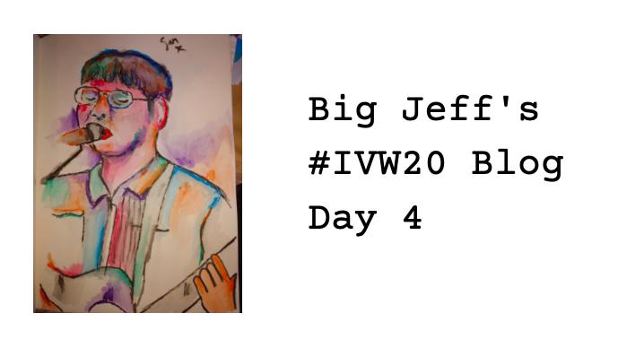 Big Jeff's IVW20 Tour – Day 4