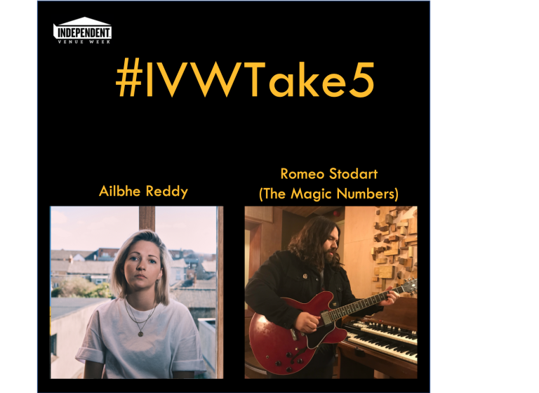 #IVWTake5 Ailbhe Reddy chats with Romeo Stodart (The Magic Numbers)