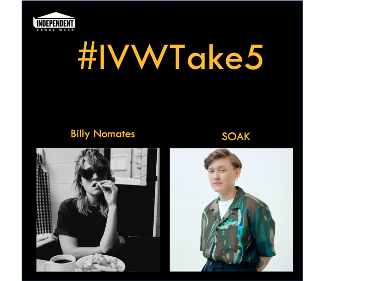 #IVWTake5 Billy Nomates chats with SOAK