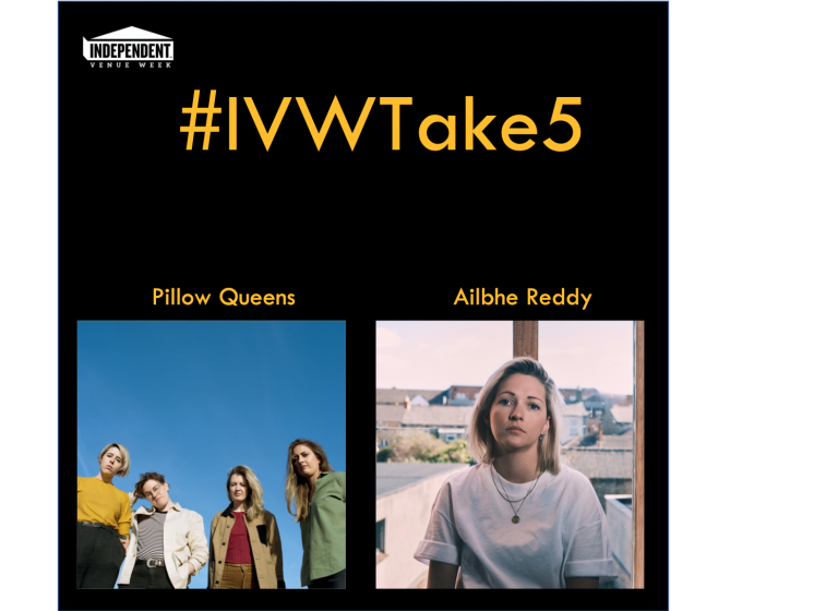 #IVWTake5 Pillow Queens chat with Ailbhe Reddy