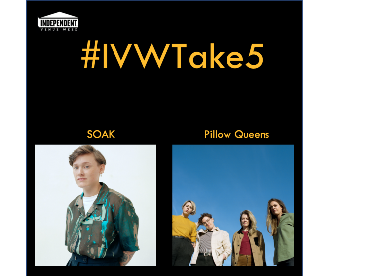 #IVWTake5 SOAK chats with Pillow Queens