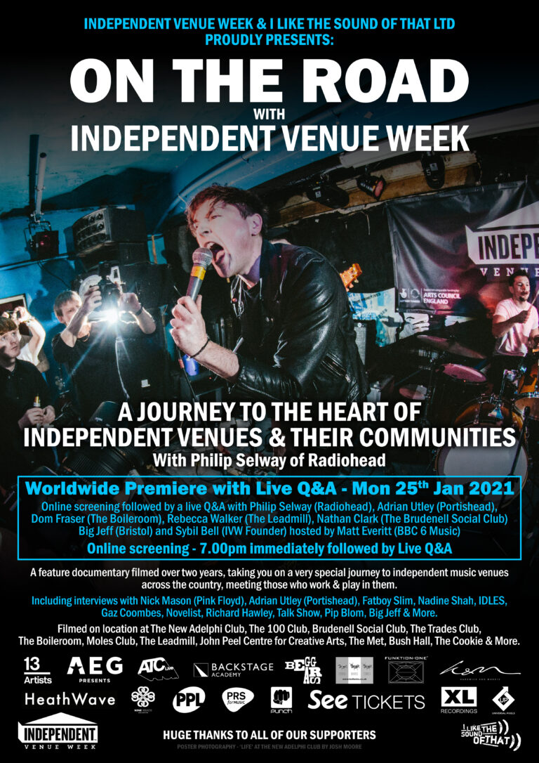 On The Road with Independent Venue Week – Premiere Tickets Onsale Now