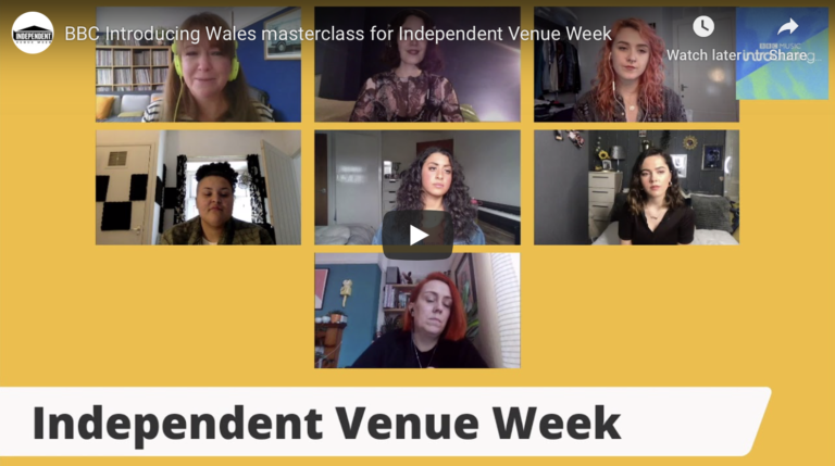 BBC Introducing Wales masterclass for Independent Venue Week
