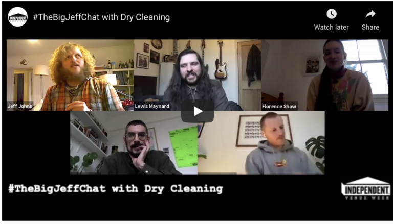 #TheBigJeffChat with Dry Cleaning