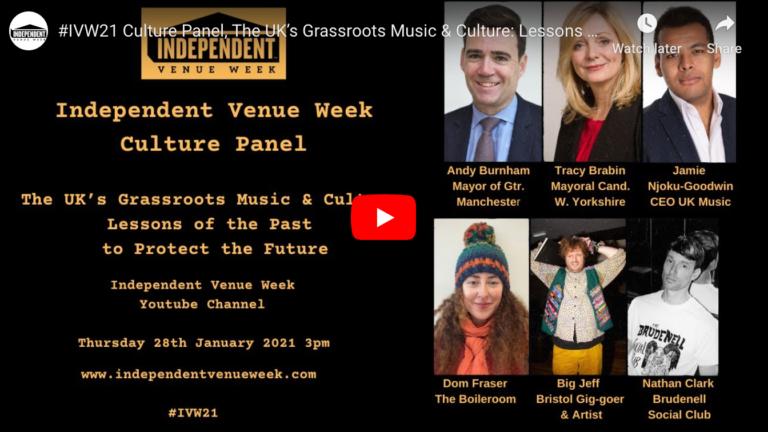 Culture Panel – Andy Burnham, Tracy Brabin, Jamie Njoku-Goodwin, Dom Fraser, Big Jeff, Nathan Clark