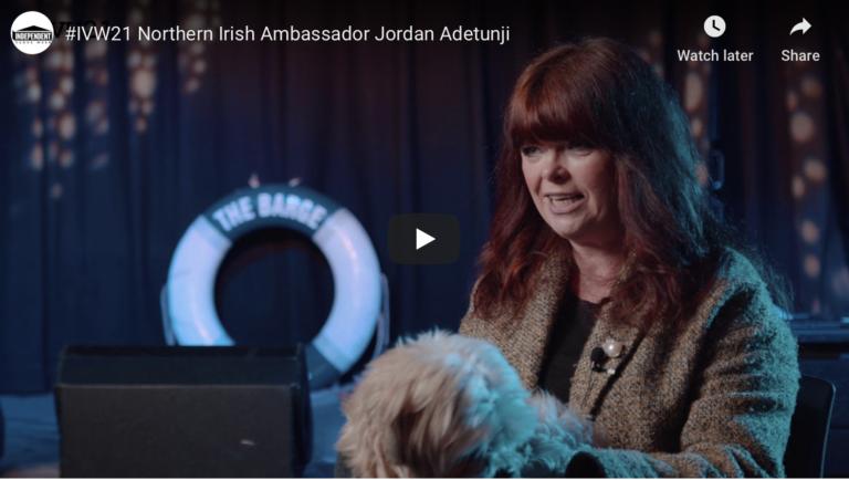 #IVW21 Northern Irish Ambassador Jordan Adetunji