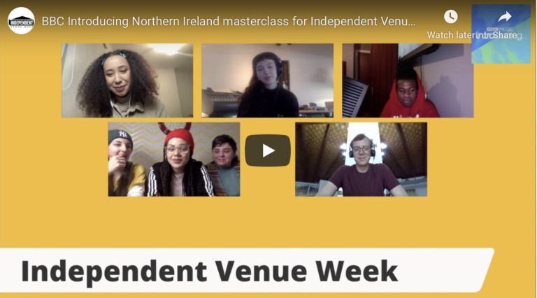 BBC Introducing Northern Ireland masterclass for Independent Venue Week.