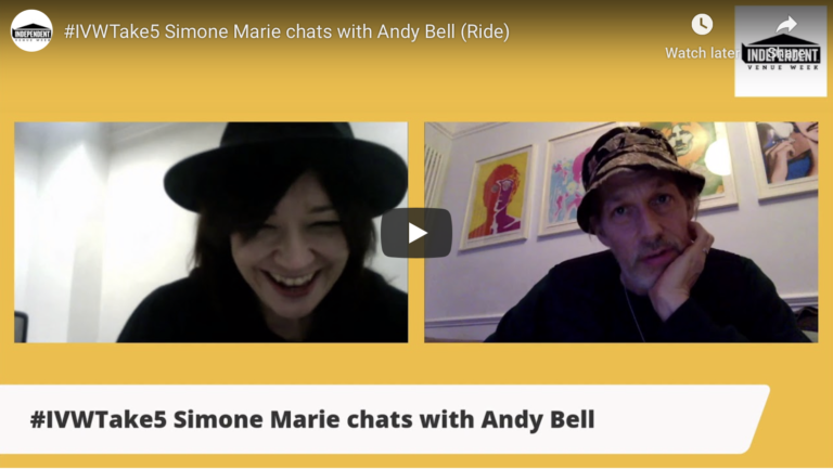 #IVWTake5 Simone Marie chats with Andy Bell (Ride)
