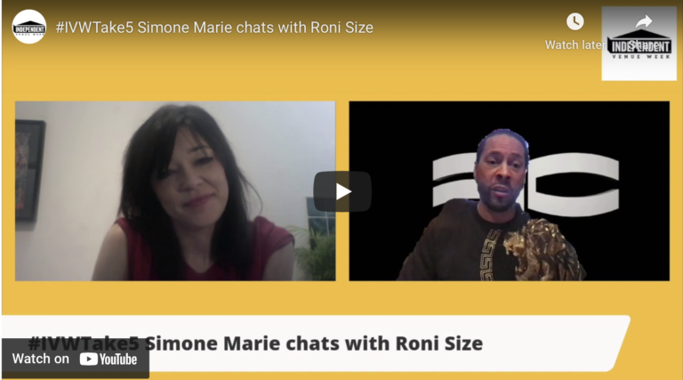#IVWTake5 Simone Marie chats with Roni Size