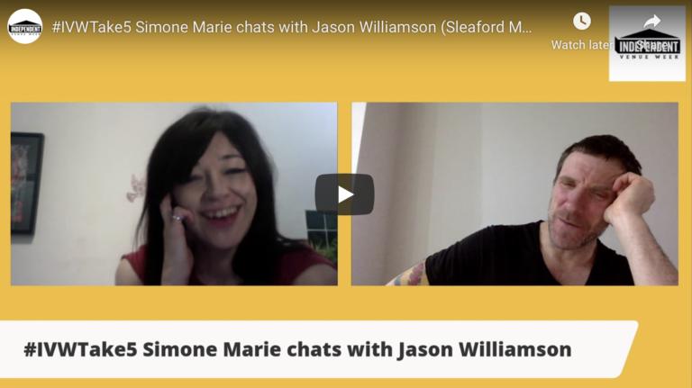 #IVWTake5 Simone Marie chats with Jason Williamson (Sleaford Mods)