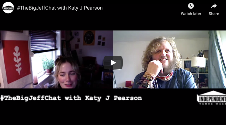 #TheBigJeffChat with Katy J Pearson