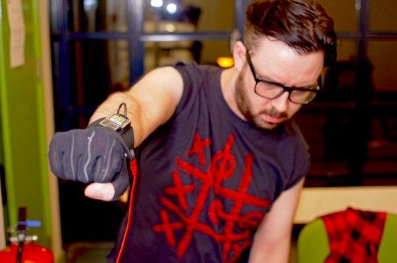 """Announcing """"The Gloves Are On"""" Tour  with Kris Halpin, in partnership with Attitude Is Everything"""