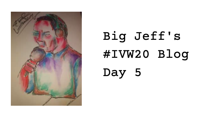 Big Jeff's IVW20 Tour – Day 5